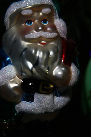 Santa ornament.